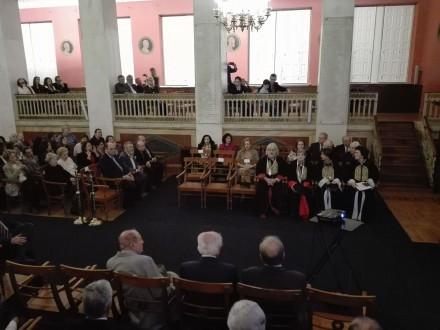 Στην πανηγυρική συνεδρίαση του Πανεπιστημίου Αθηνών για την 25η Μαρτίου ως εκπρόσωπος της Αξιωματικής Αντιπολίτευσης, στις 25 Μαρτίου 2017.