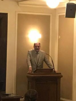 Στο Δικηγορικό Σύλλογο Αθηνών, προλογίζοντας ως Πρόεδρος την εκδήλωση της Ένωσης Νομικών της Ενέργειας,στις 27 Ιουνίου 2017.