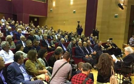 Από την τελετή ονοματοδοσίας του Παλαιού Τελωνείου Χανίων σε θέατρο Μίκης Θεοδωράκης, όπου παρευρέθηκα ως εκπρόσωπος του Προέδρου της Νέας Δημοκρατίας,στις 23 Οκτωβρίου 2017.