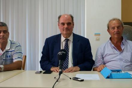 Από τη συνέντευξη Τύπου που έδωσα στα Χανιά για το θέμα της αξιοποίησης των κτιρίων του Πολυτεχνείου της Κρήτης,στις 10 Ιουλίου 2017.