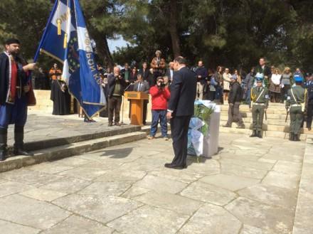 Από την εκδήλωση του Ιδρύματος Ελευθέριος Βενιζέλος με αφορμή το πολιτικό μνημόσυνο των Ελευθερίου και Σοφοκλή Βενιζέλου