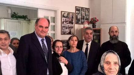 Από την επίσκεψή μου στο Γηροκομείο του Προφήτη Ηλία στο Παγκράτι στο πλαίσιο δράσης της 2ης ΔΗΜ-ΤΟ,στις 08 Απριλίου 2017.