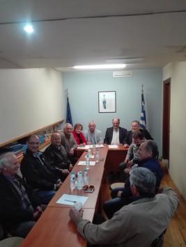 Από τη σύσκεψη στη ΝΟΔΕ ΝΔ Ευρυτανίας, στο Καρπενήσι ,στις 05 Μαΐου 2017.
