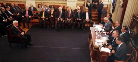 Από την εκδήλωση για την παρουσίαση του βιβλίου του Ευριπίδη Στυλιανίδη ''Θράκη το Επόμενο Βήμα'' στο Πανεπιστήμιο Αθηνών,στις 25 Μαΐου 2016.