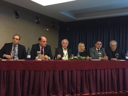 Από την εκδήλωση στο 5ο Νομικό Συνέδριο της Ένωσης Ασκουμένων και Νέων Δικηγόρων Αθήνας, στις 13 Μαρτίου 2015.