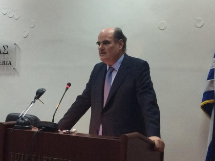 Kαλεσμένος του δικηγορικού συλλόγου Κατερίνης στην αίθουσα του Επιμελητηρίου Πιερίας .Μίλησα για την αναθεώρηση του Συντάγματος_,στις 16 Νοεμβρίου 2016.