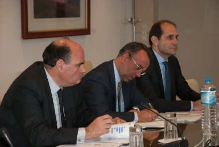 Από την επίσκεψη του Τομέα Οικονομικών της ΝΔ στη Γενική Συνομοσπονδία Επαγγελματιών Βιοτεχνών Εμπόρων Ελλάδος,στις 21 Δεκεμβρίου 2016.