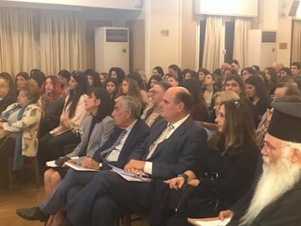 Από το χαιρετισμό και τη συμμετοχή μου στην Παγκόσμια Ημερίδα Βιοηθικής για την ''Ισότητα,Δικαιοσύνη και Ισονομία στο Δικηγορικό Σύλλογο Αθηνών'',στις 19 Οκτωβρίου 2017.