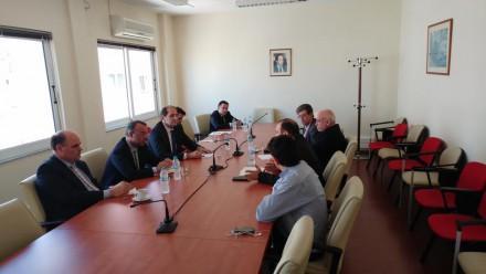 Από την συνάντηση εργασίας με το Προεδρείο του Οικονομικού Επιμελητηρίου Ελλάδος,στις 11 Μαΐου 2017.