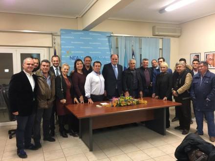 Από την συνάντηση στη ΝΟΔΕ Πιερίας,στις  25 Νοεμβρίου 2016.