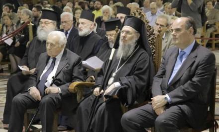 Από την κατανυκτική συναυλία Βυζαντινής Μουσικής στον Άγιο Παντελεήμονα οδού Αχαρνών,στις 17 Απριλίου 2016.