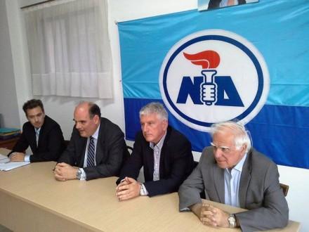 Νομαρχιακή Επιτροπή Λευκάδας,στις 6 Ιουνίου 2015.