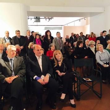 Από την εκδήλωση για την κοπή βασιλόπιτας στο 3ο ΤΔ της ΝΔ στα Πετράλωνα,στις 21 Φεβρουαρίου 2016.