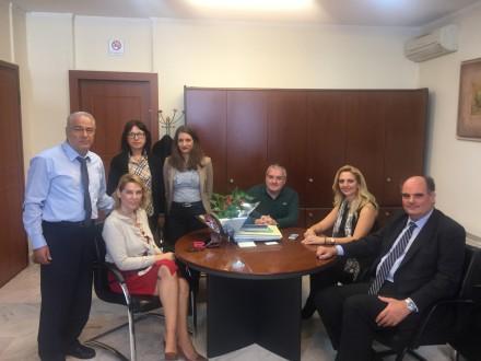 Από την επίσκεψή μου στο ΤΕΙ Αθήνας μαζί με τη συνάδερφο κα Κ.Παπακώστα, στη φωτογραφία με τον Πρόεδρο του ΤΕΙ κ. Μ. Μπρατάκο,στις 11 Νοεμβρίου 2016.