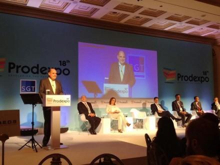Από το 18ο συνέδριο της Prodexpo για τις αντικειμενικές αξίες των ακινήτων στο ξενοδοχείο Μεγάλη Βρετανία,στις 18 Οκτωβρίου 2017.